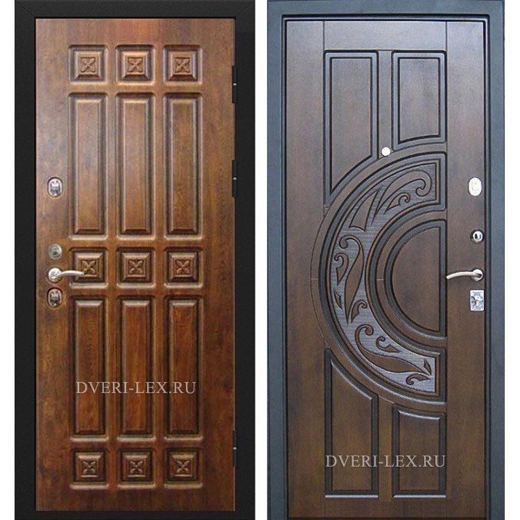 патина по металлический дверь